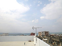 宮古島のstay&resort cafua/ウィークリー・マンスリー カフア - 屋上からの景色は開放感があります