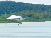 宮古島のvilla karimata/ヴィラ狩俣 - 海側から見るとこんな感じ