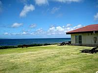 宮古島のパイベースリゾート - 芝生スペースの居心地が良いかも?