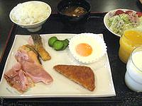 宮古島のピースアイランド宮古島 - 朝食バイキングはこの程度