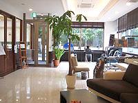 宮古島のホテルサザンコースト宮古島 - ロビーは広め