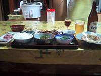 宮古島の農家民宿津嘉山荘 - 満足の食事!味・量ともに大満足!