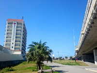 那覇の那覇ビーチサイドホテル - すぐ目の前に道路ができて低層階はイマイチ