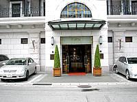 那覇のホテルブライオン那覇 - この系列のホテルはエントランスがキレイ