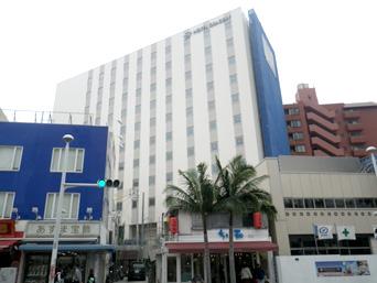 那覇のホテルグレイスリー沖縄(2016年春開業)