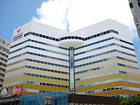 那覇の沖縄ナハナ・ホテル&スパ(旧ホテルグランドオーシャン) - このアングルはグランドオーシャン時代もお馴染み?