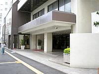 那覇のホテルロイヤルオリオン(旧ホテル西武オリオン) - 国際通りに面したホテルの入り口