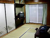 那覇の沖縄船員会館 - 和室もシングル利用可能