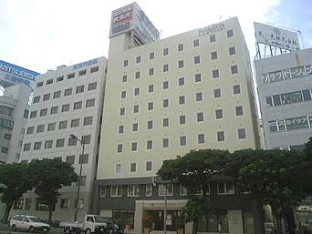 那覇のホテル ユクエスタ旭橋(旧那覇イーストホテル)