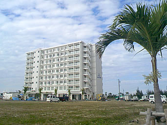 南部のホテルグランビューガーデン沖縄