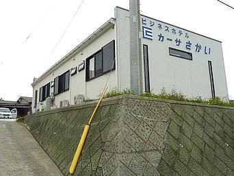 沖永良部島のビジネスホテル カーサさかい