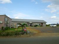 沖永良部島の永嶺荘 - この商店の裏にある大きな邸宅