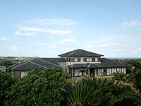沖永良部島の永嶺荘 - 宿の雰囲気はない大邸宅