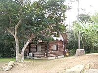 沖永良部島の大山野営場バンガロー