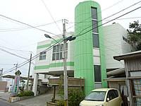 沖永良部島のビジネスホテル パラダイスinn沖永良部(2階旧ボウリング場半壊)