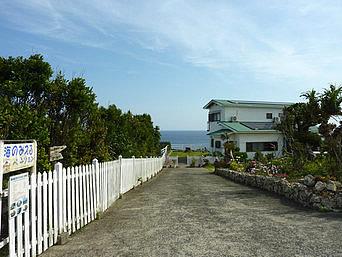 沖永良部島の海のみえるペンション(貸し別荘)