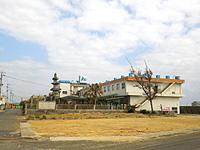 沖永良部島の民宿ゆたか荘(廃業・撤去) - 2014年末時点の状況
