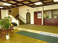 沖永良部島の観光ホテル東 - ロビーから部屋によってはかなり歩く