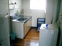 下地島のオーシャンハウスinさしば/下地コーラルホテル - キッチン・冷蔵庫・洗濯機完備