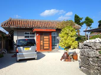 竹富島の民宿マキ荘