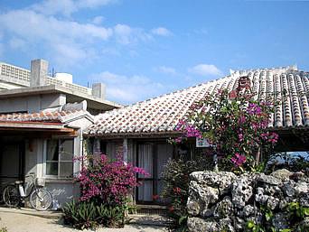 竹富島の民宿仲盛荘