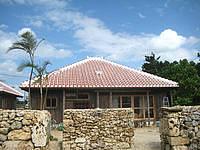 竹富島のゲストハウス すかぶら - 母屋です。