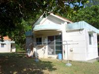 多良間島のゆがぷうランドコテージ/キャンプ場バンガロー(管理はペンションあだん) - 小さな一軒家の雰囲気