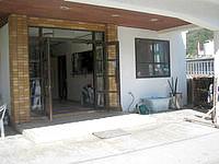 渡嘉敷島のリーフINN国吉(リーフイン国吉) - 玄関回りは広々しています