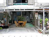 渡嘉敷島のペンション・ログハウス・民宿シーフレンド/民宿さち - ペンション1階のこのデッキがいい感じ