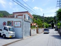 渡嘉敷島のペンション メルスィ/メルシィ - 最近看板も設置され宿らしくなった