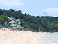 津堅島の神谷荘 - まさにオーシャンフロント