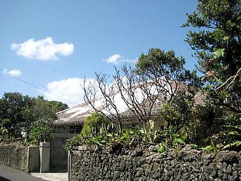 与那国島の中たけ荘(2010年9月で閉館)