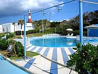 与論島のプリシアリゾート ヨロン - ダイビング用ですがプールもあります