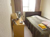 与論島のホテル青海荘 - 本館の客室