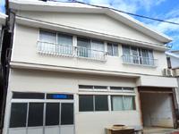 与論島の松園旅館/民宿松園(しょうえん) - 隣に別館があるけどまるで建物コピー!