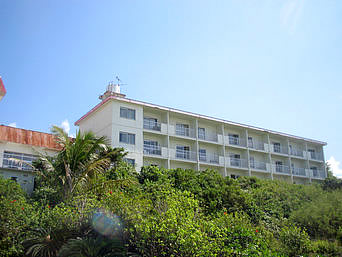 与論島の与論島パークホテル(閉館)