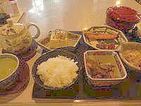 与論島のホテルヨロン島ビレッジ ホテルタイプ - 朝食メニュー