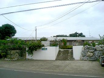 与論島のヨロン島ユースホステル