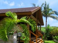 座間味島のコテージ海の茶屋 - 一軒家のログハウスを借りる感じ