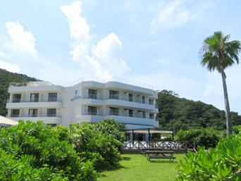座間味島のケラマビーチホテル