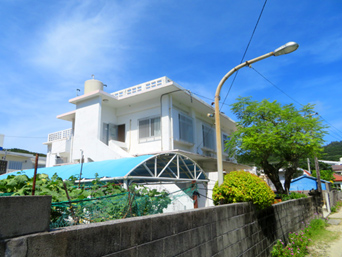 座間味島の民宿宮乃里