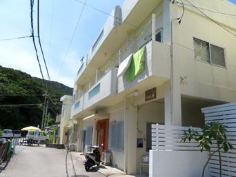 座間味島のゲストハウスいよん家(旧民宿川崎)