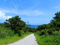 座間味島の座間味村体験滞在交流施設ウハマ - 阿佐集落からもかなり遠い